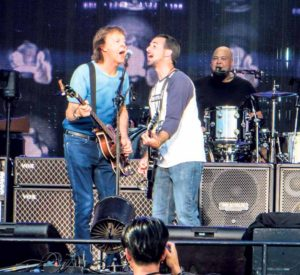 Paul McCartney invited Oyster Bay music teacher James Liverani during a sound check at MetLife Stadium.