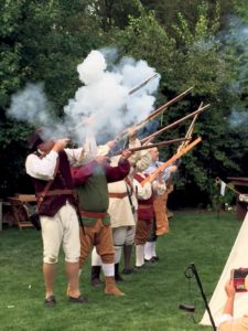 The Huntington Militia presents a colonial encampment.