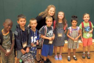 Theodore Roosevelt Principal Tami McElwee makes the youngest students feel at home.