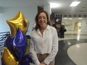Career Day founder Beth Bucheister (Photos by Dave Gil de Rubio)
